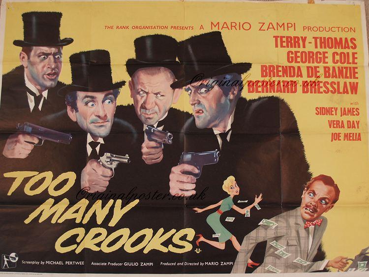 Too Many Crooks Original Vintage Film Poster Original Poster