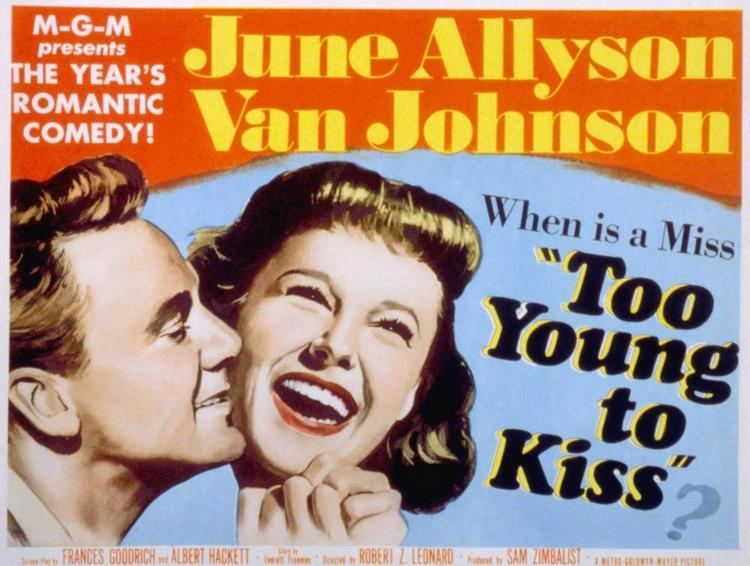 Too Young to Kiss Movie 1951