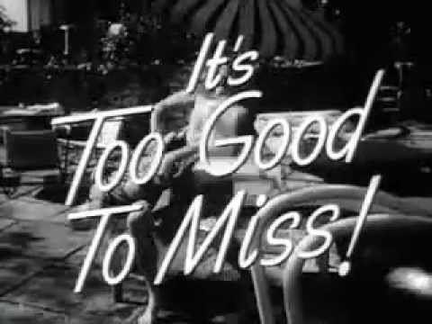 Too Young To Kiss Trailer 1951 YouTube