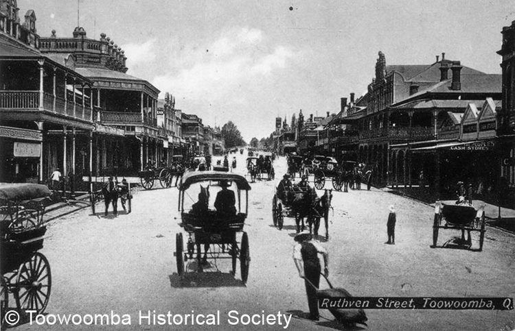 Toowoomba in the past, History of Toowoomba