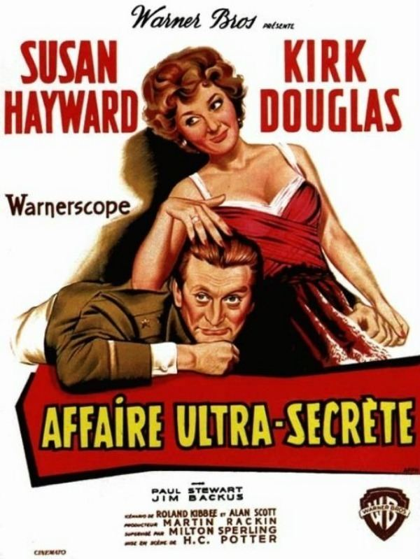Andscene TCM Tuesdays in September Kirk Douglas Top Secret