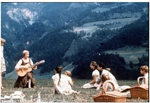 Tops with Pops movie scenes The ideal summer holidays would be like a scene from the Sound of Music the