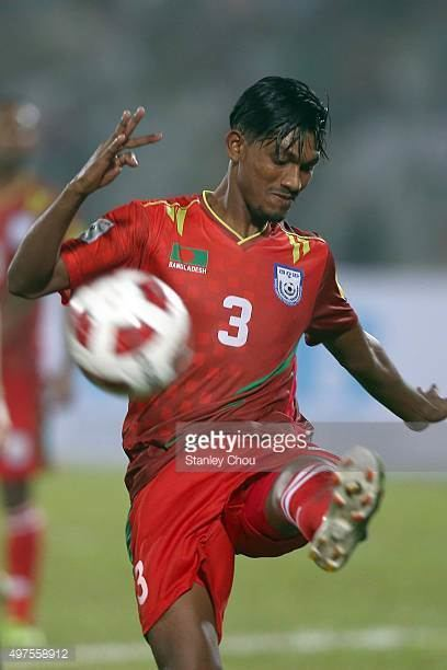 Topu Barman Topu Barman of Bangladesh kicks during the 2018 FIFA World Cup