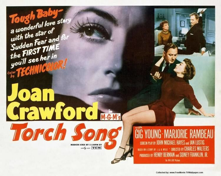 Torch Song (film) torch song film Pesquisa Google 1950s Film Posters Pinterest