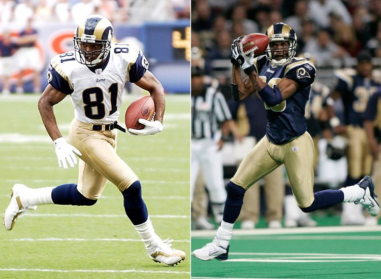 Torry Holt Isaac Bruce and Torry Holt Best receivers in Rams history Los 225513a63