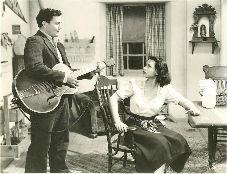Train Bellies John Garfield and Hedy Lamarr in Tortilla Flat