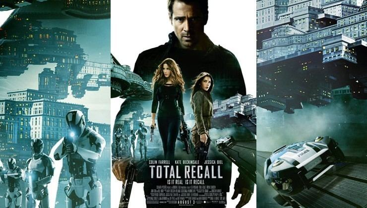 Total Recall (2012 film) movie scenes Total Recall 2012 Movie Review