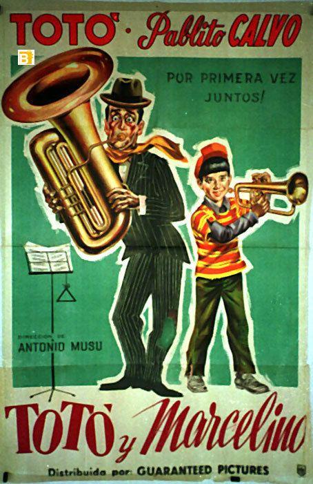 Toto and Marcellino TOTO E MARCELLINO MOVIE POSTER TOTO E MARCELLINO MOVIE POSTER