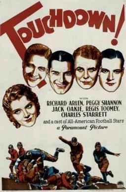 Touchdown (1931 film) movie poster
