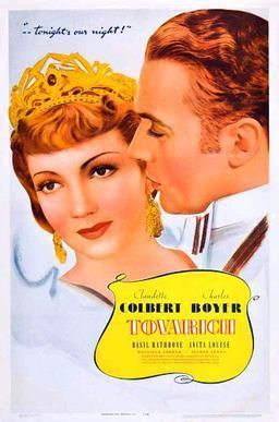 Tovarich (film) movie poster