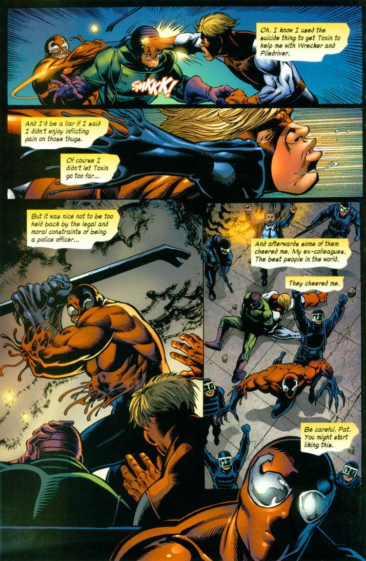 Toxin (comics) wolverine with toxin sybiote vs hulk Battles Comic Vine