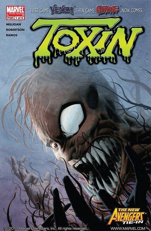 Toxin (comics) Toxin 1 6 GetComics