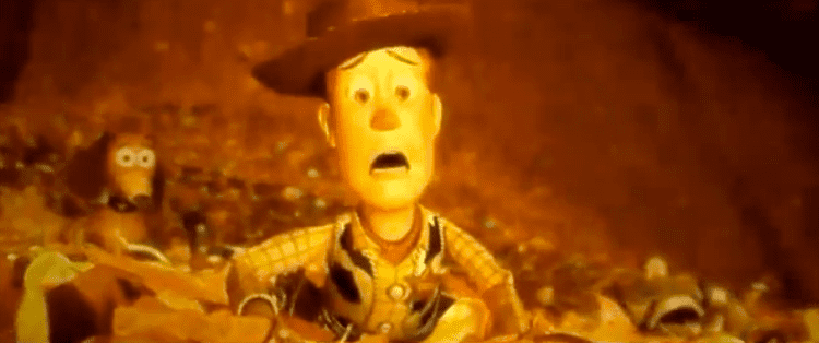 Toy Story 3 movie scenes This is a great sequence created by FixiousMaximus that takes the the climatic junk yard scene from Toy Story 3 and replaces the original music with Michael