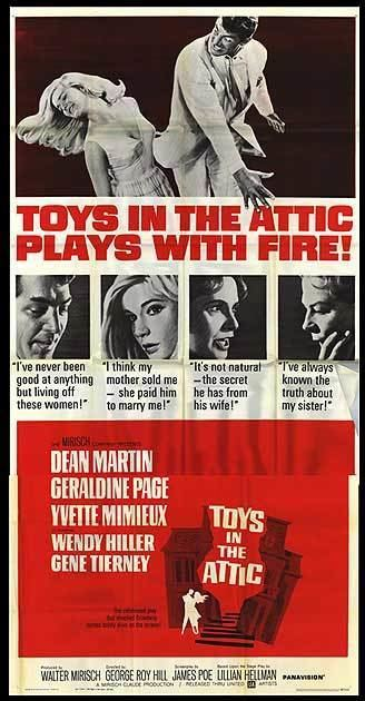 Toys In The Attic movie posters at movie poster warehouse