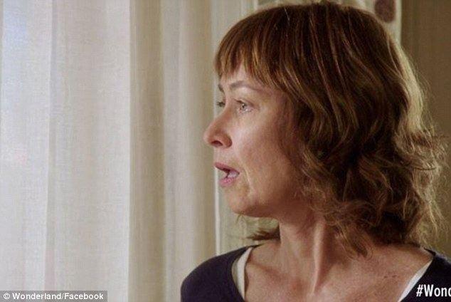 Tracy Mann Wonderlands Tracy Mann undergoing chemotherapy following breast