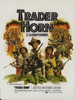 Trader Horn (1973 film) movie poster