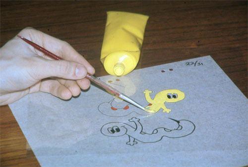 Traditional animation