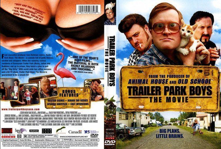 Trailer Park Boys: The Movie Trailer Park Boys The Movie Movie DVD Scanned Covers