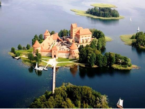 Trakai Beautiful Landscapes of Trakai
