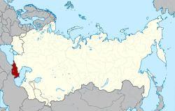 Transcaucasia Transcaucasian Socialist Federative Soviet Republic Wikipedia