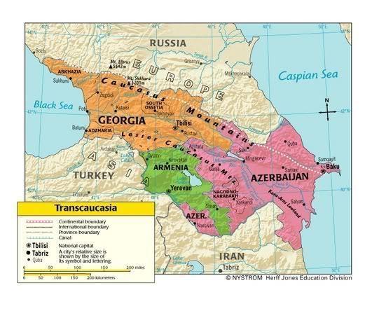 Transcaucasia Transcaucasia SovietEmpirecom USSR