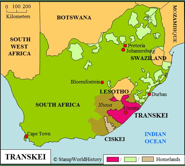 Transkei Transkei Stamps and postal history StampWorldHistory