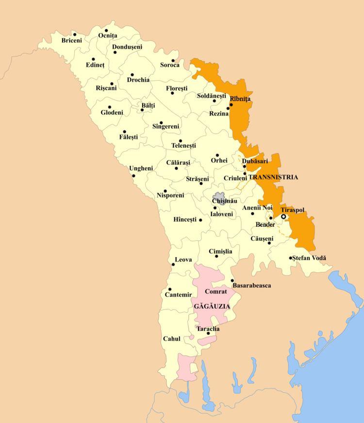 Transnistria autonomous territorial unit with special legal status