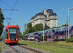 Tranvía del Este Tranva del Este o Tranva de Puerto Madero Buenos Aires Ferropedia