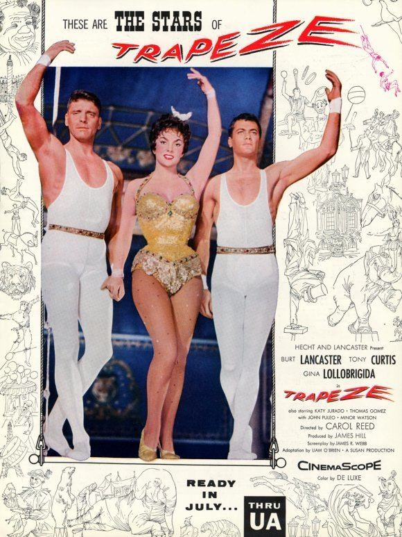 Trapeze Movie Posters From Movie Poster Shop