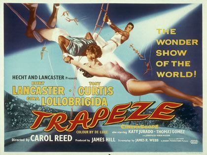 Trapeze 1956 Film posters Films and Movie
