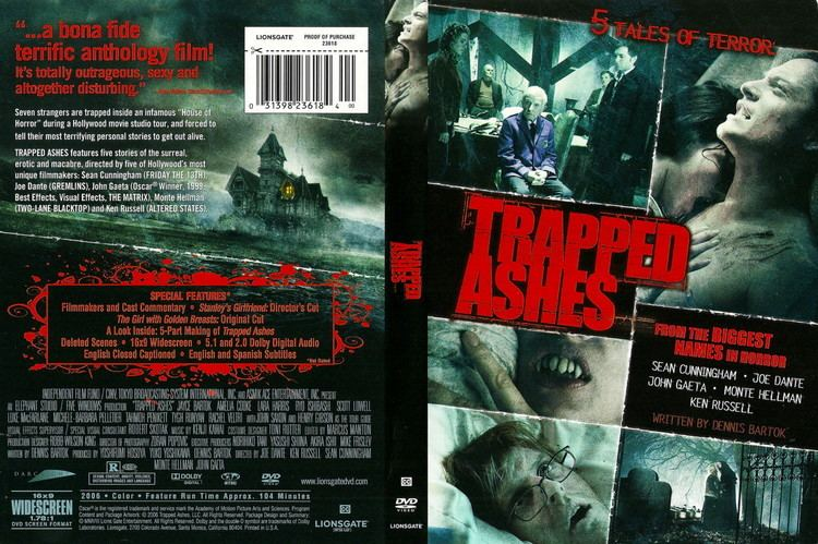 COVERSBOXSK Trapped Ashes 2006 high quality DVD Blueray