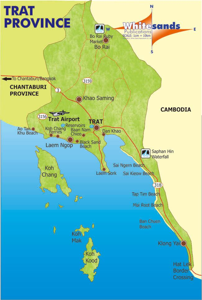 Trat Province the Mainland Koh Chang Guide