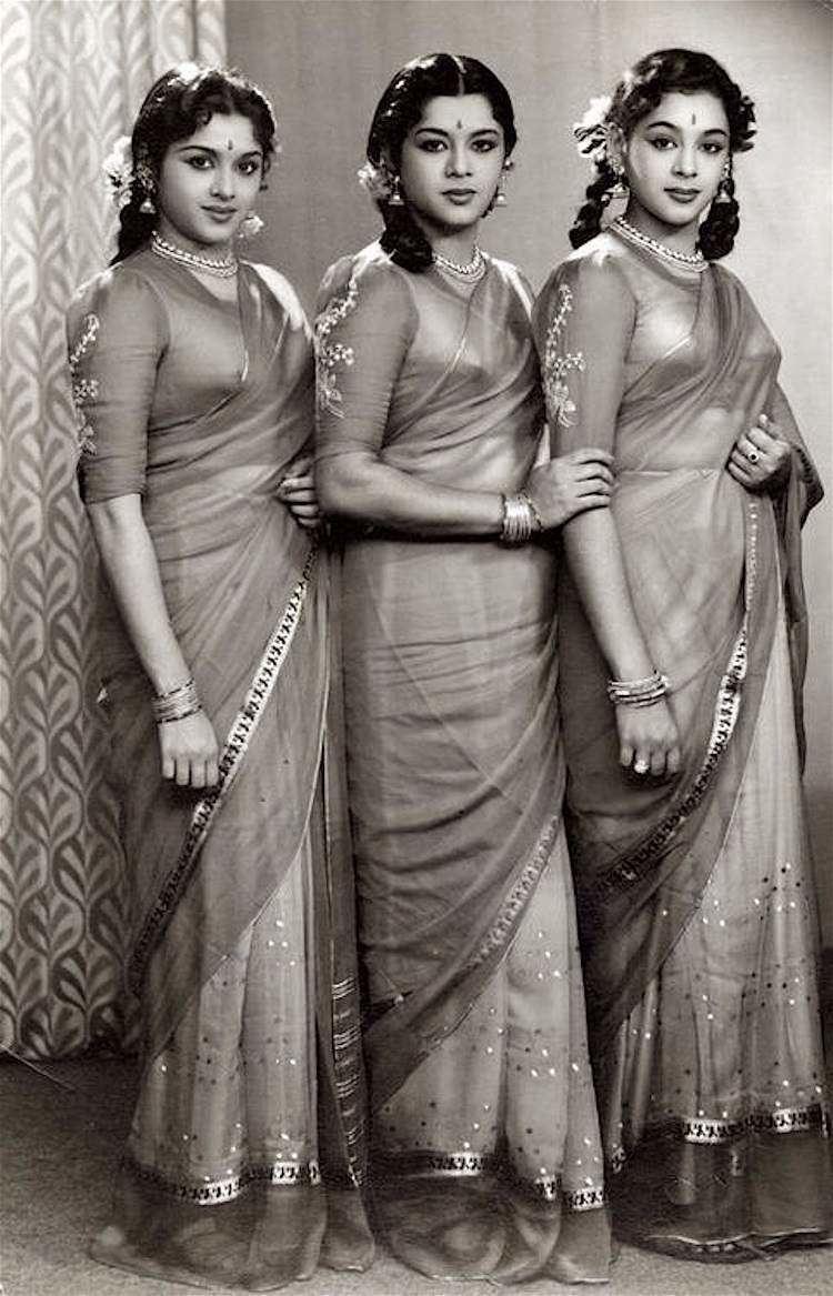 Travancore The Travancore Trio Sisters who conquered the silver screen The
