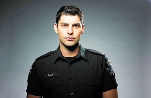 Travis Milne Alberta star of Rookie Blue Travis Milne enjoys