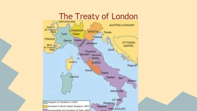 Treaty of London (1915) Treaty of London and Battle of Caporetto