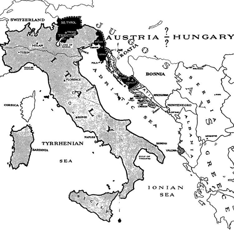 Treaty of London (1915) 26 April 1915 Treaty Of London The Great War Blog