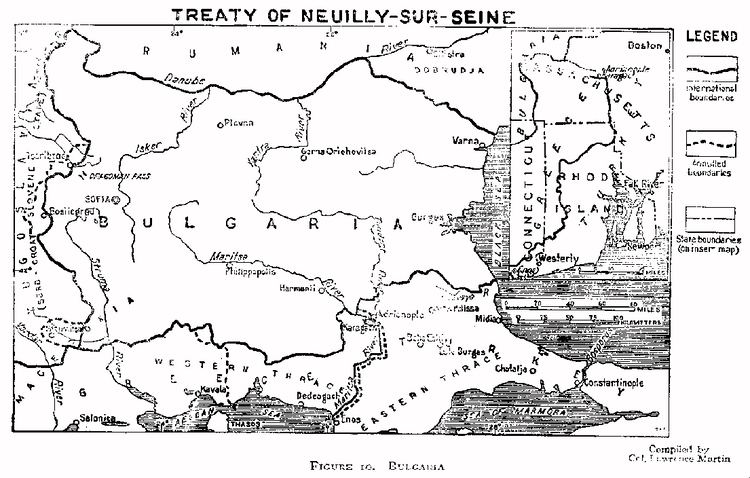 Treaty of Neuilly-sur-Seine Treaty of NeuillysurSeine 27 November 1919