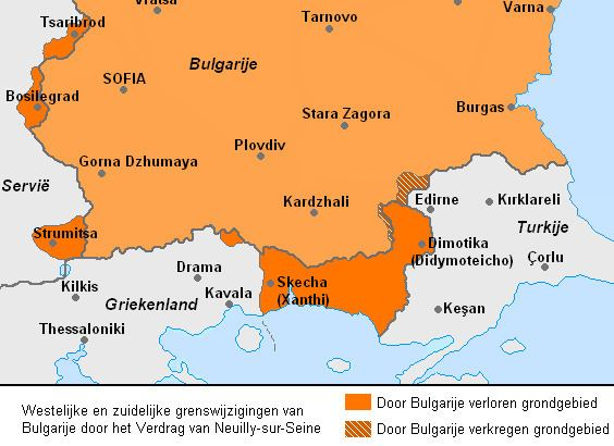 Treaty of Neuilly-sur-Seine FileWandS Bulgaria after Treatry of NeuillysurSeine Dutchpng