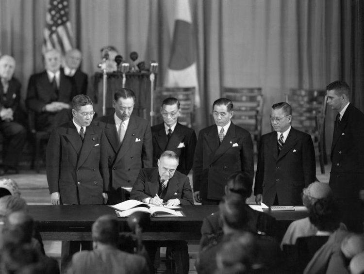 Treaty of San Francisco Yoshida Shigeru History of Japan Podcast