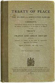 Treaty of Versailles httpsuploadwikimediaorgwikipediacommonsthu