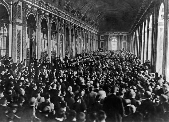Treaty of Versailles Treaty of Versailles 1919 Britannicacom