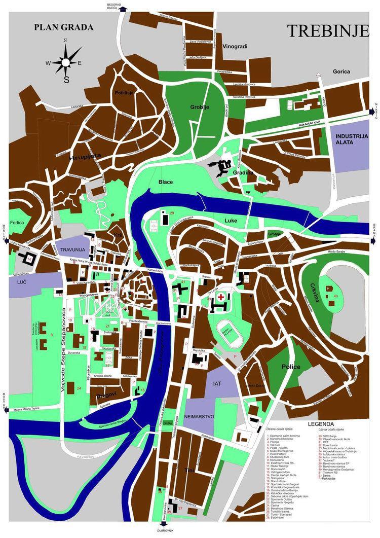 Trebinje in the past, History of Trebinje