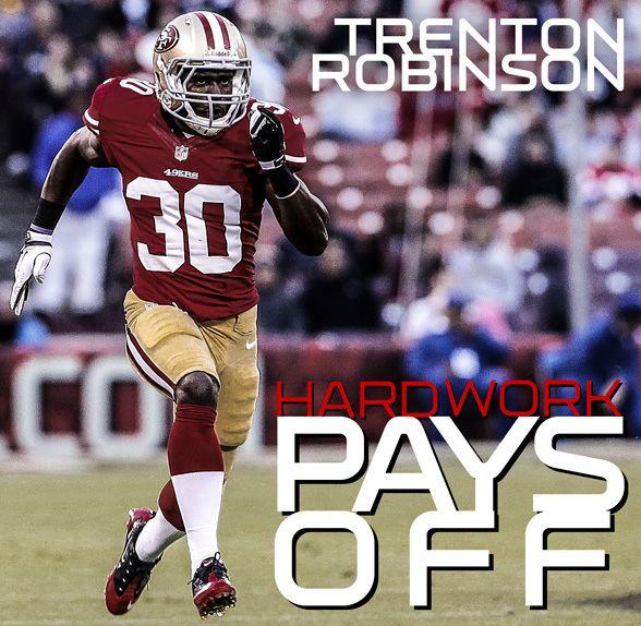 Trenton Robinson Trenton Robinson Hard Work Pays Off