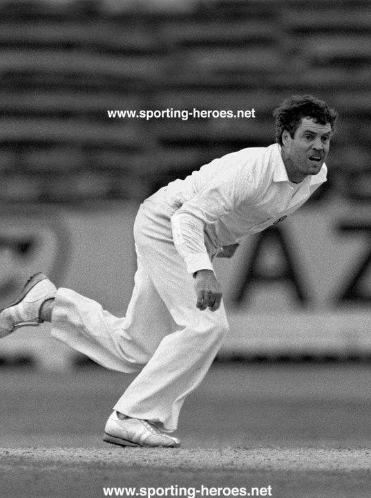 Trevor Chappell Test Profile 1981 Australia