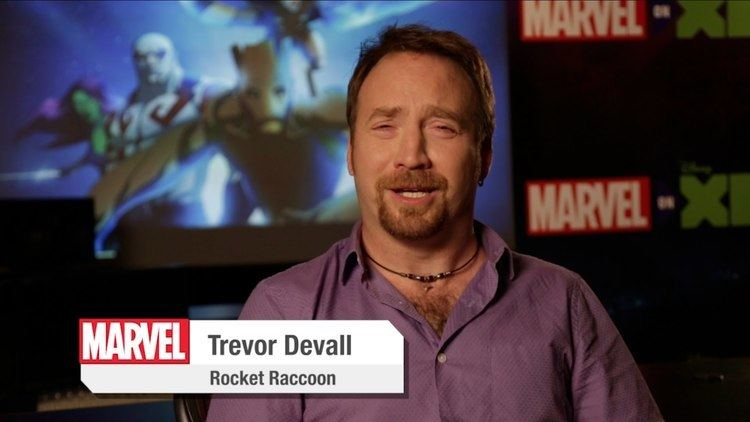 Trevor Devall Trevor Devall Interview Marvels Guardians of the Galaxy YouTube