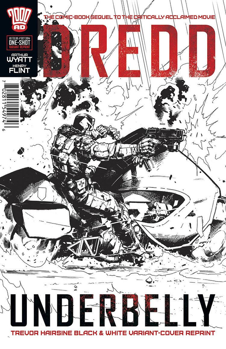 Trevor Hairsine Dredd39 Comic Sequel Gets Third Printing With Trevor Hairsine