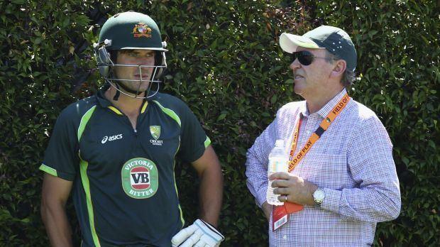 Trevor Hohns Trevor Hohns named Cricket Australias interim chairman of selectors