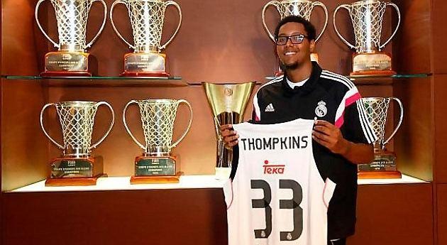 Trey Thompkins ACB Liga Endesa El Real Madrid presenta a Trey Thompkins
