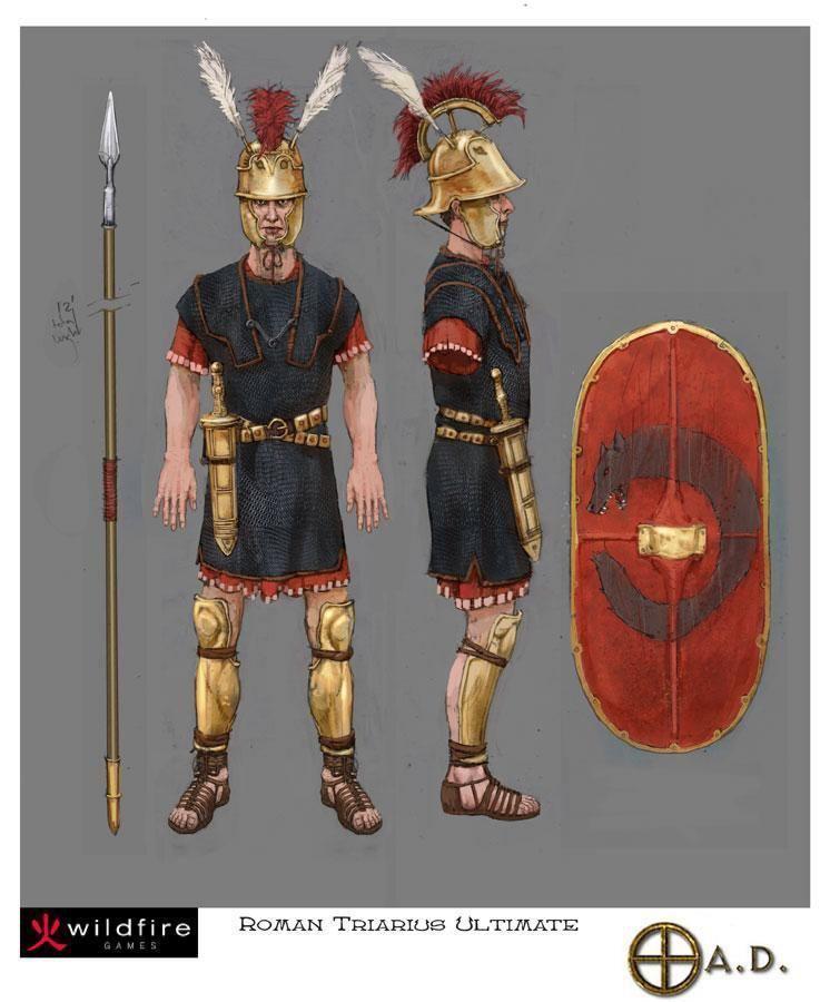 Triarii Triarii image 0 AD Empires Ascendant Mod DB