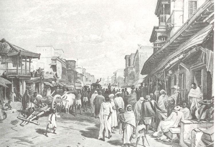 Tribeni in the past, History of Tribeni